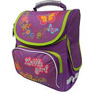 Школьный ортопедический рюкзак для девочек( корпусной) фирмы Smart
