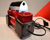 Компрессор автомобильный БелАвто БК45 Зубр Двухпоршневой 90л/мин 10.0 Атм Питание от клемм + Сумка в комплекте