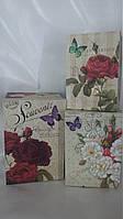 """Коробка прямокутна  """"Квіти сувенір"""""""
