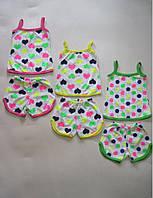 Детская летняя пижама Колокольчик Размер 86 - 140 см