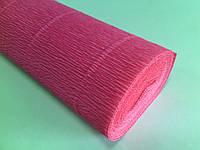 Креп-бумага 551 50см*2,5м Италия ярко-розовый 074