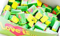 Блок жвачек Love is... Лимон-Яблоко :)