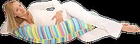 Подушка для беременных и кормления Eko (в ассортименте, полистироловые шарики), Womar