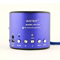 Портативная колонка радиоприемник с Bluetooth WSTER WS-Q9