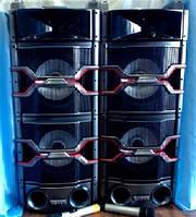 Активная акустическая система Temeisheng T242 (колонки) 2х150W + Bluetooth(Супер громкие!)