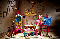 Набор Джинджер Бредхаус и кухня Ever After High Sugar Coated Kitchen with Ginger Breadhouse Doll Play Set