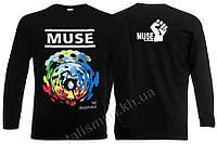 MUSE - The Resistance - рок-футболка с длин. рукав.