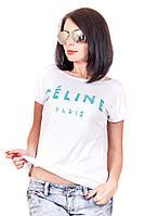 Футболка лодочка фаина celine, футболки оптом, женская футболка недорого, дропшиппинг  украина