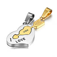 "Кулоны для влюбленных ""Я тебя люблю"""
