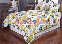 Детский комплект постельного белья 3D полуторный, ранфорс 100% хлопок. Постільна білизна дитяча.(арт.5619)