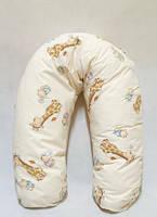 Подушка для беременных и кормления (в ассортименте, полистироловые шарики), Womar
