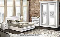 Спальня С-2 комплект белый (ТМ Скай)