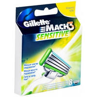 Кассеты для бритвы Gillette Mach 3 Sensitive (8 шт)