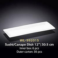 Блюдо для суши/канапе 30.5см Wilmax (спайка-3шт)