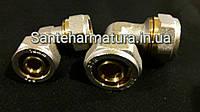Угол для металлопластиковых труб 16-16