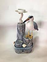Подсвечник, Чайка, 26 х 16х16 см, Морские сувениры, Днепропетровск