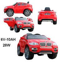 Детский электромобиль BMW X6, RED