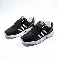 Мужские кроссовки Adidas ZX Neo (адидас) черные