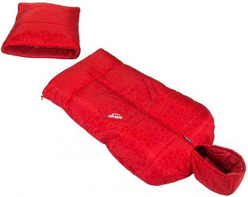 Оригинальный спальный мешок Vango Starwalker/12°C/Circles, 922504 красный