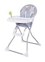 Детский стульчик для кормления Bertoni Jolly Grey White Funny Days
