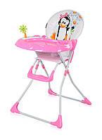 Детский стульчик для кормления Bertoni Jolly Pink Penguin
