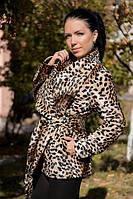 Леопардовое пальто В НАЛИЧИИ РАЗМЕР С