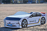 Кроватка машина Полиция Украина 155*70 см