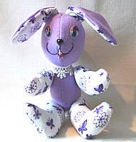 Мягкая игрушка ручной работы Кролик Сеня