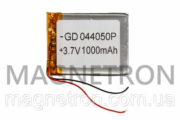Аккумулятор литий-полимерный GD 044050P 3,7V 1000 mAh 40x51mm, фото 2
