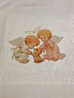 Детское одеялко-крыжма из микрофибры