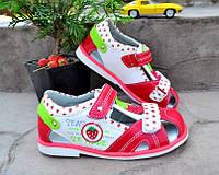 Детская обувь босоножки на девочку