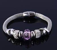 Женский браслет в стиле Pandora. Пандора