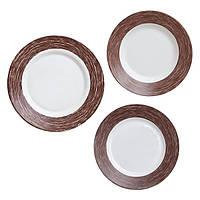 Столовый сервиз Luminarc Color Days Chocolat на 6 персон (18 пр.) L1510