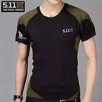 Качественные тактические футболки 5.11. Легкая и удобная мужская футболка. Доступная цена. Купить. Код: КДН296