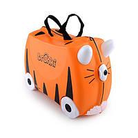 Детские чемоданы на колесах Trunki Tiger Tipu