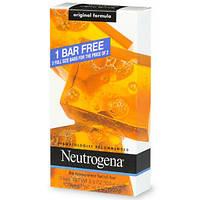 Мыло для умывания Neutrogena original facial bar soap 3 шт