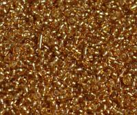 Бисер стеклянный 400 гр.№22В янтарь