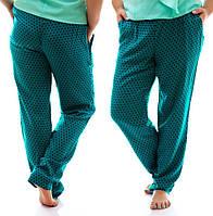 Женские штапельные брюки