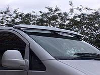 Козырек на лобовое стекло Opel Vivaro (2001-2015) / стеклопласт, на клей