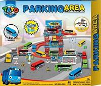 Игровой набор Паркинг для автобусов Тайо NO.660-206 YNA