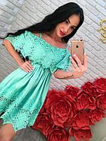 Платье женское Ангел мятное , женская одежда