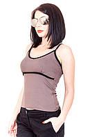 Майка 182 (2 цвета), майка женская, майки летние недорого, распродажа, дропшиппинг поставщики