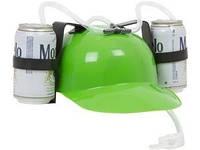 Шлем для пива зеленого цвета