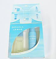 Женский подарочный набор  DONNA LA RIVE  (Туалетная вода/дезодорант)