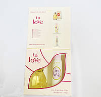 Женский подарочный набор IN LOVE (Туалетная вода/дезодорант)