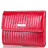 Женский компактный кожаный кошелек KARYA (КАРИЯ) SHI1065-1LAZ Красный