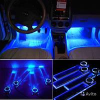 Светодиодные пластины для подсветки салона автомобиля.
