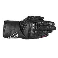 Мотоперчатки женские Alpinestars Stella SP-8 черные, XS