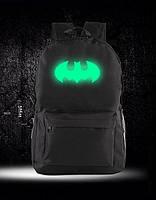 Молодежный городской рюкзак Бэтмен с фосфорным знаком.