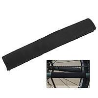 Защита пера велосипеда от цепи.чёрная